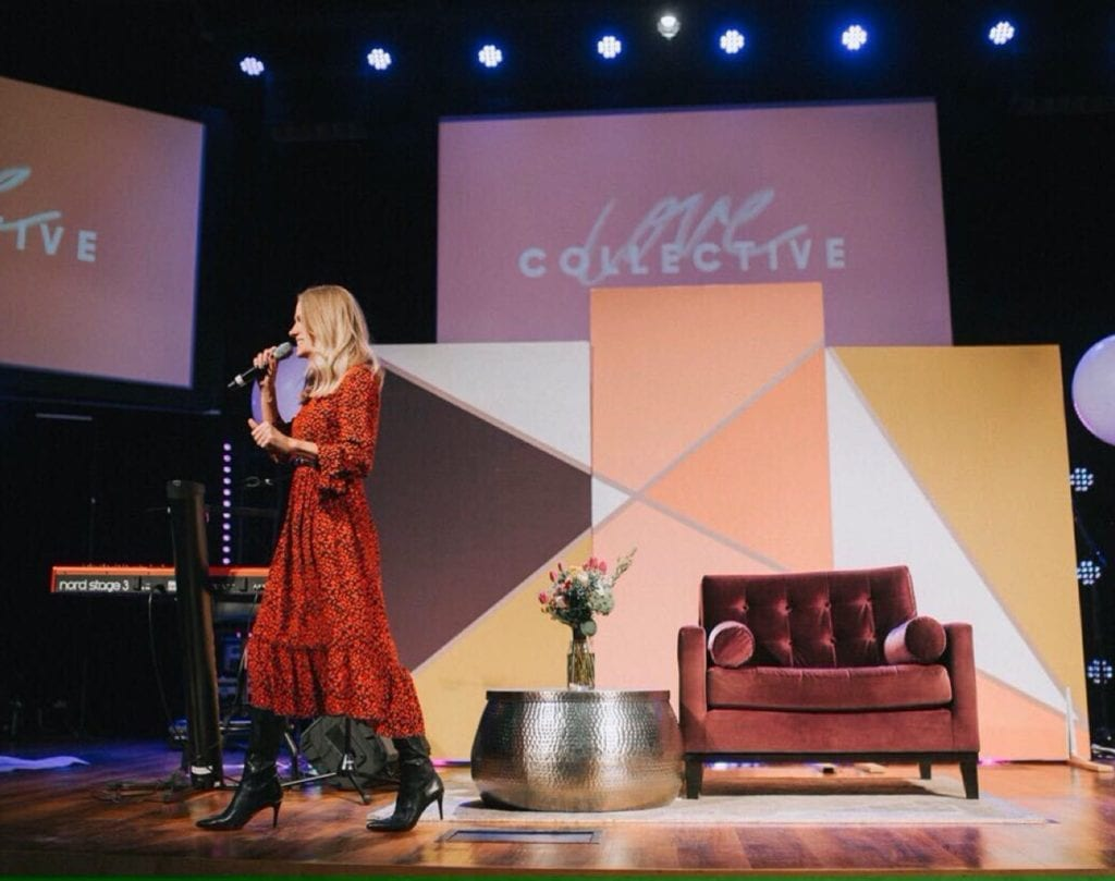Renee Evans Preaching